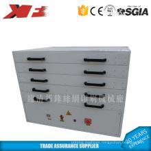 Screen drying box