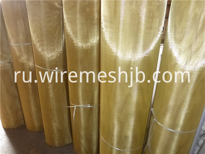 100 Mesh Brass Wire Cloth