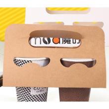 Arbeiten Sie Art Paper / Papppapier-Kaffee Pacakging Kästen mit Logo-Kaffee-Papierkästen um