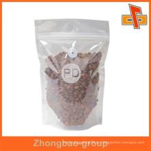 Guangzhou proveedor de calor de alta calidad de sellado de la humedad de plástico bolsa de café de material con válvula para su propio logotipo