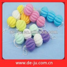 Bathroom Long Petaling Colored Plastic Mesh Flower Ball