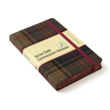 DARK RED CLOTH COVER NOTEBOOK-0