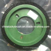 High Quality Nylon Wire Round Textile Brush (YY-360)