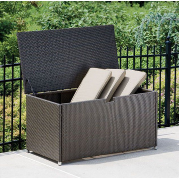 Moderne Patio Wicker Stroage Box