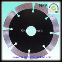 Lâmina de serra de diamante corte húmido para a porcelana de betão mármore granito