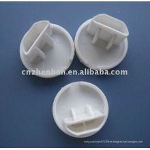 Tapa de riel inferior tapa-tapa de plástico para persianas, tapa de plástico para accesorios de cortina