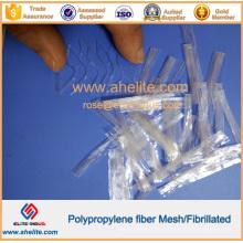 Fibra fibrilada de polipropileno de alta resistencia