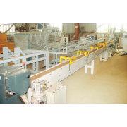 Línea de la granulación para experimento de madera y plástico