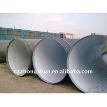 API 5L Gr.B Tubo de aço espiral / SSAW Tubo com 3PE