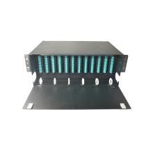 144 Puertos de núcleo LC Montaje en rack Panel de conexiones ODF