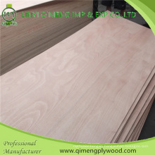 Hot Sale Bbcc Grade Okoume Door Skin Plywood with 3′x6′ 3′x7′ 4′x7′ Size