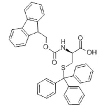 D-Cysteine,N-[(9H-fluoren-9-ylmethoxy)carbonyl]-S-(triphenylmethyl) CAS 167015-11-4