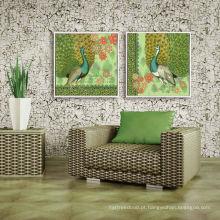 Arte decorativa da parede da arte do hotel impressão de canvas envolvida