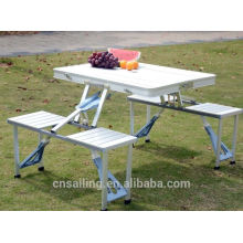 Luxury Durable Easy Cleaning folding picnic table plastic chair