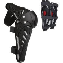 Sport-Knie-Schienbein-Rüstung schützen Schutz-Auflagen mit Plastikzement-Haken für Motorrad-Motocross-Laufen