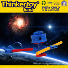 Bricolaje paraguas modelo educación juguete para cultivar la creatividad de los niños
