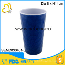 outdoor use singhara pattern design plastic melamine cup