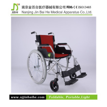 Portable Lightweight Manual Wheelchair with FDA, CE