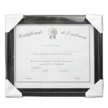"""8.5 """"x 11"""" documento plástico marco de alta calidad"""