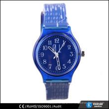 Reloj plástico del cabrito de la venta caliente, reloj encantador