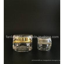 5g / 15g crema jarras para cosméticos empaque / botellas de saco de muestra