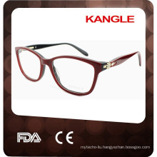 2017 optical red acetate with diamonds eyewear wholesale