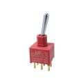 IP67 Toggle Switch Miniature Mini Elektrik