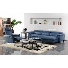 Досуг Италия Кожаный диван Современная мебель
