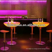 iluminar mesas y sillas de discoteca