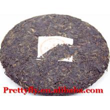 357g Chá maduro Pu'er, Yunnan Meng hai Ban Zhan árvore antiga Chá Puerh, emagrecimento chá para perder peso