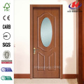 JHK-003  Metal Frame Oval Frosted Glass French Doors