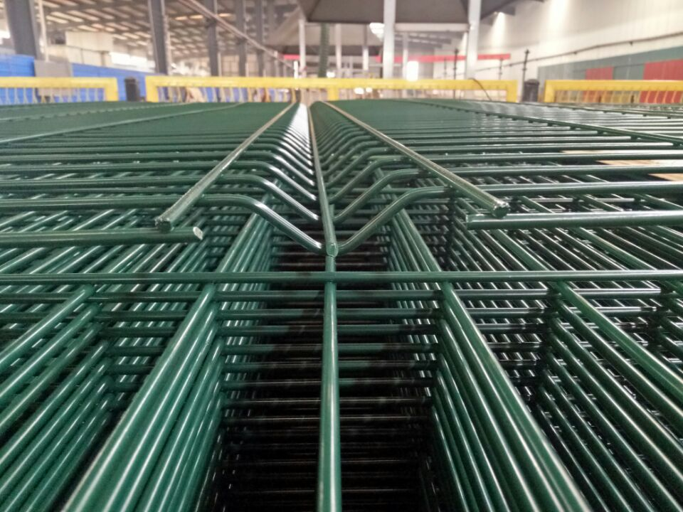 Fast installation Steel Mesh Fence Panels