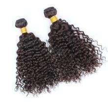 Extension de cheveux humains brésiliens créatifs brésiliens crépus bouclés vierges remy