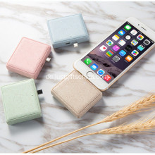 Werbeartikel Mini Wheat Straw Power Bank
