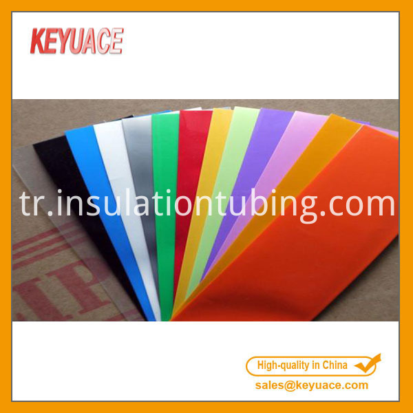 Thin Pvc Heat Shrinkable Tube 18650