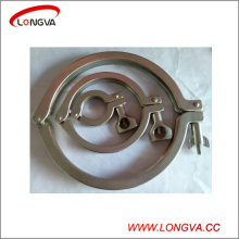 Stainless Steel Sanitary Pipe Fitting Tri Clover Clamp