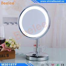 Single Side Table Stand Illuminated LED Mirror with CE Approved