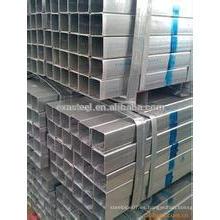 Tubo de acero galvanizado cuadrado (BS estándar)