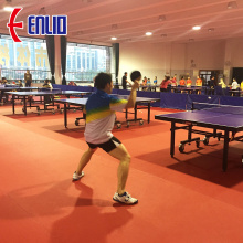 ITTF approvato Table Tennis Pavimenti sportivi Indoor