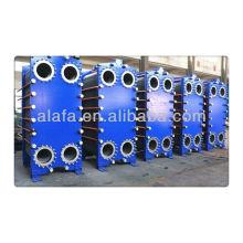 JQ12B échangeur à plaques pour huile, fabrication de l'échangeur de chaleur, costume haut débit taux moyen.