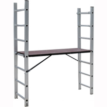 4*6 alu step ladder scaffold system with EN131/SGS,aluminium scaffolding ladder