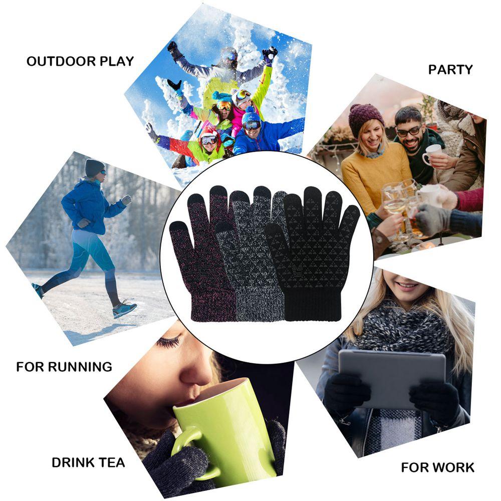 Touchscreen mittens