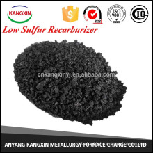charbon / lowsulfurrecarburizer dans la coulée de fer
