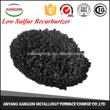 coal/lowsulfurrecarburizer in iron casting