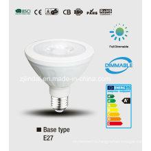 PAR затемняемый светодиодные лампочки PAR30-Sbl