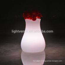 LED lampe de bureau avec remote APP Mobile portable conçu LED vase voyant de contrôle