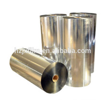 12 microns PET film coating silver