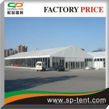 20x60m алюминиевый структурный стеклянный настенный тент на продажу