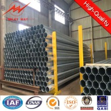 11,9 m octogonal aço galvanizado polos