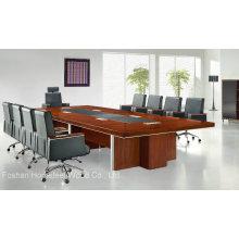 Mesa de conferência moderna de madeira de escritório de alta qualidade (HF-MH7026)